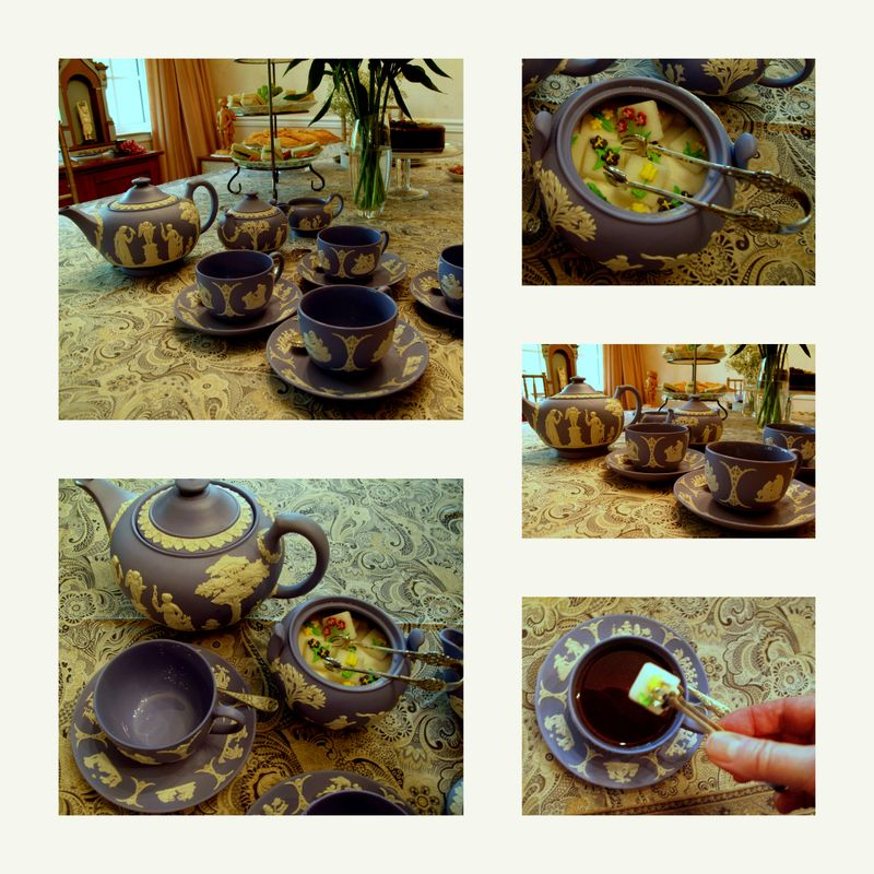 A Mad Hatter Tea Party